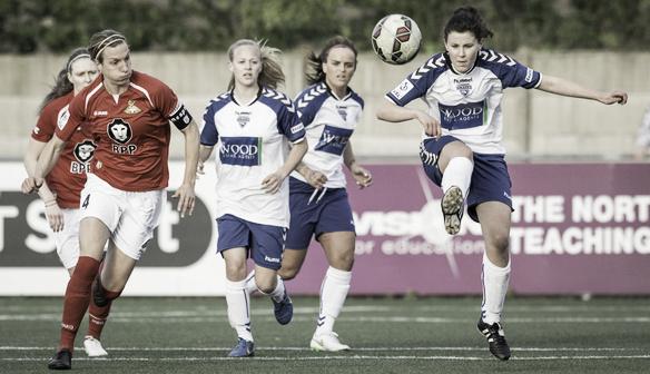 Lauren Jordinson in action for Durham. | Photo: Durham WFC