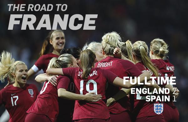 Inglaterra sumó su segunda victoria al hilo | Foto: The FA