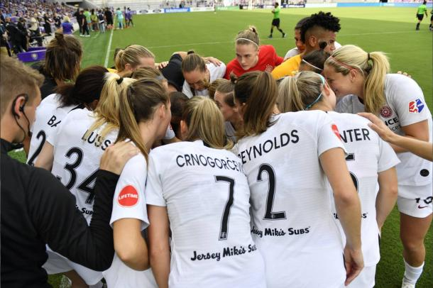 Portland's roster changed very little during the off-season. | Photo: isiphotos via @ThornsFC