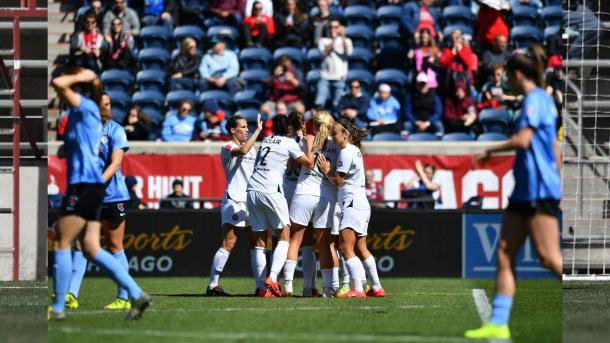 The Thorns fell behind once in the game, but they recovered quickly. | Photo: isiphotos.com
