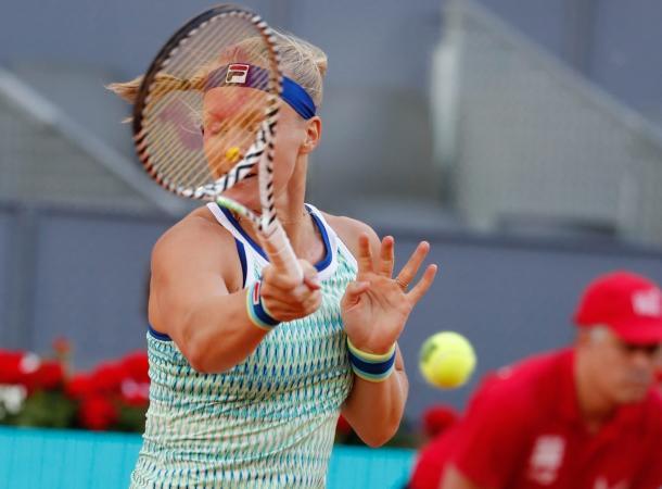 Bertens ponía la directa | Foto: Mutua Madrid Open