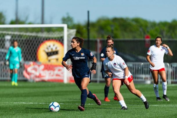 Rocky Rodriguez was the second player on Sky Blue FC to score this season. | Photo: isiphotos.com