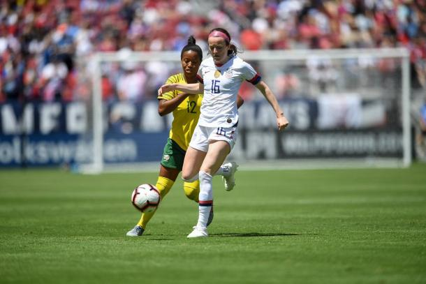 Rose Lavelle (#16) is working her way back to full match fitness. | Photo: @WashSpirit