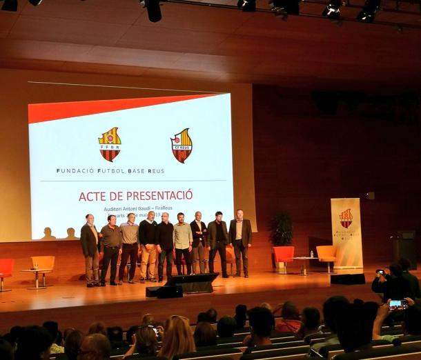 Fotografía del acto de presentación | Fuente: Andreu Rauet (VAVEL)