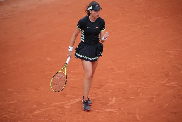 Konta despede-se do segundo Slam do ano com uma ótima campanha feita e uma boa subida no ranking (Foto: Divulgação/Roland Garros