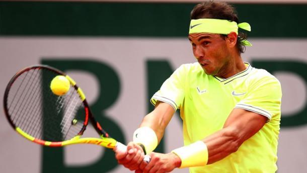 Nadal lucha. Imagen-ATP