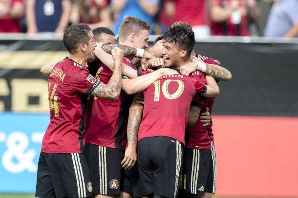 A first half goal bonanza gave Atlanta the win over NYCFC   Source: atlutd.com