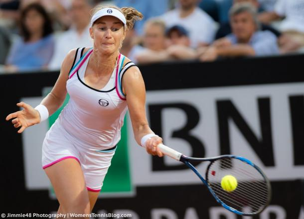 Ekaterina Makarova earned some good wins in Rome two weeks ago | Photo: Jimmie48 Tennis Photography