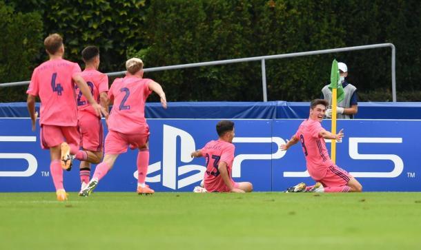 Dotor culminó la remontada con un contragolpe de ensueño | Foto: www.uefa.com