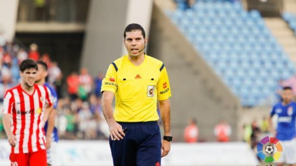 Trujillo Suárez arbitrará el Villarreal-Alavés. | Foto: LaLiga