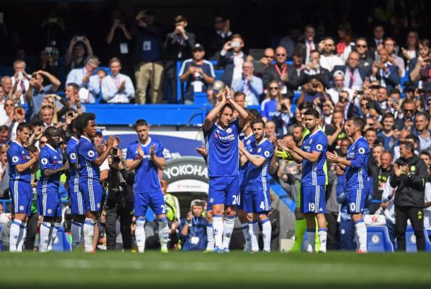 Stamford despide a Terry. Foto: Chelsea.