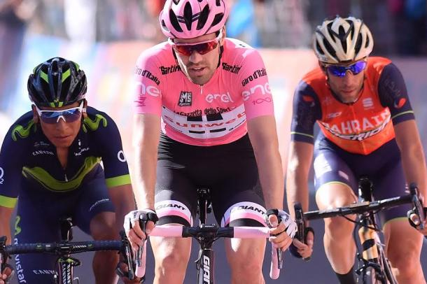 Giro: e' polemica tra Dumoulin e Nibali