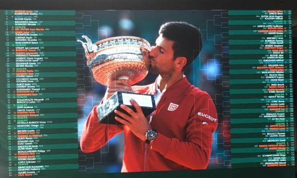 Il tabellone del Roland Garros 2017 | Photo: Twitter