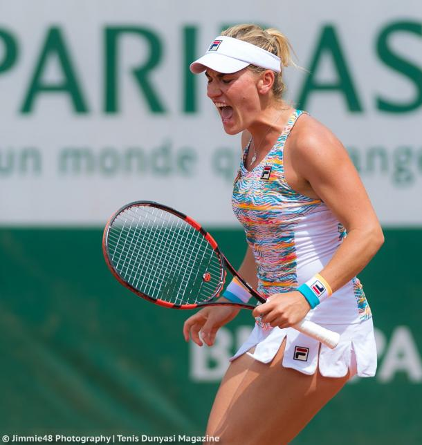 Timea Babos would rue her missed opportunities | Photo: Jimmie48 Tennis Photography