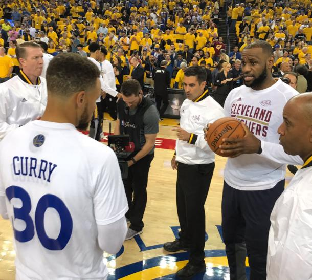 Resultado Golden State Warriors X Cleveland Cavaliers Pelo
