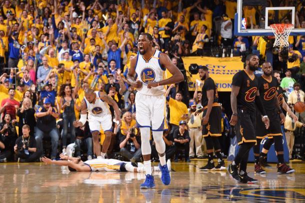 Golden State Warriors campeões da NBA pela quinta vez