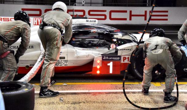 Porsche had to settle for third and fourth. | Photo: Twitter/Porsche LMP1 Team
