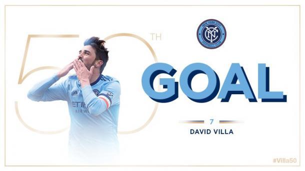 David Villa, más de 50 goles en la MLS | Foto NYCFC