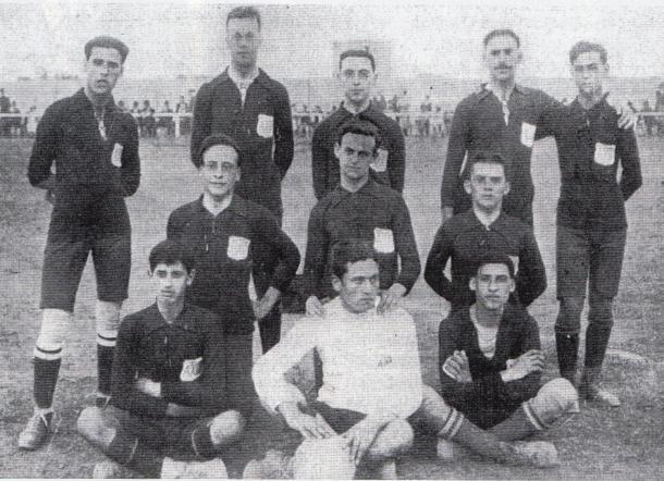 Primer partido oficial del club