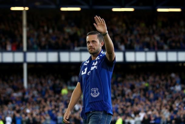 La presentazione di Sigurdsson a Goodison Park. | Fonte: twitter.com/Everton