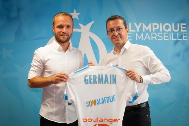 Valère Germain, presentado este martes como nuevo jugador del Marsella. | FOTO: @OM_Officiel
