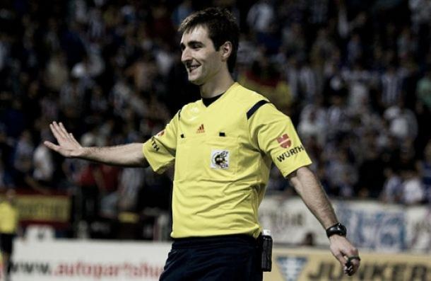 De Burgos Bengoetxea arbitrará el partido en La Rosaleda/ FOTOGRAFÍA: La Liga.
