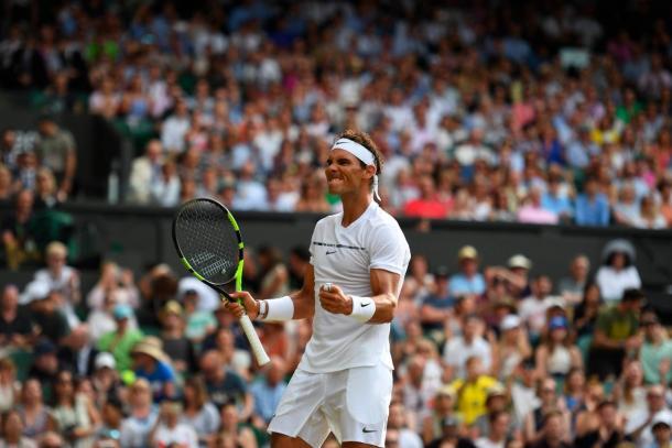 Nadal - Fonte: @Wimbledon / Twitter