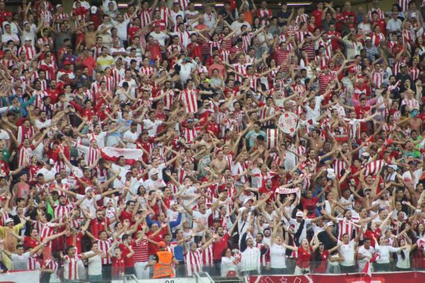 Com quase 6000 presentes, pernambucanos quebraram recorde de público na Arena pela Segundona (Foto: Léo Lemos/Náutico)