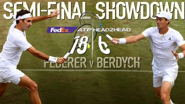 Federer - Berdych - Fonte: atpworldtour.com