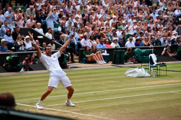 Cilic - Fonte: @Wimbledon / Twitter