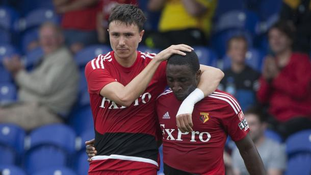 Steven Berghuis' future is still up in the air (Photo: Watford FC/ Twitter)