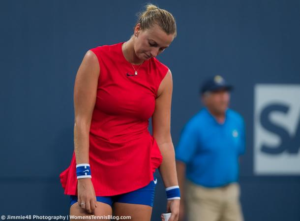 Petra Kvitova would be really disappointed with herself today | Photo: Jimmie48 Tennis Photography