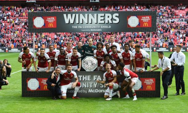 Fonte immagine: Twitter @Arsenal