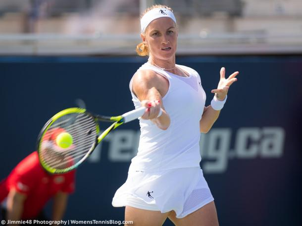 Svetlana Kuznetsova played a poor match today | Photo: Jimmie48 Tennis Photography
