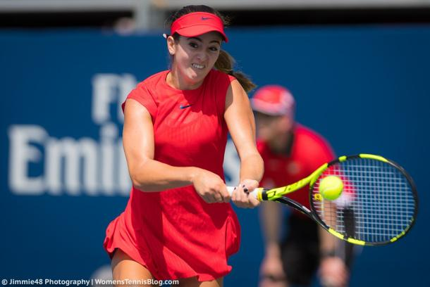 Catherine Bellis moves into the third round | Photo: Jimmie48 Tennis Photography