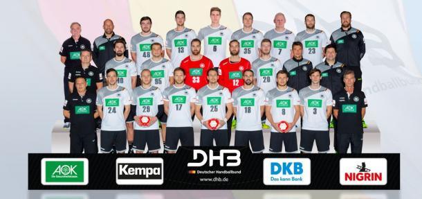 Selección alemana. Foto: EHF.