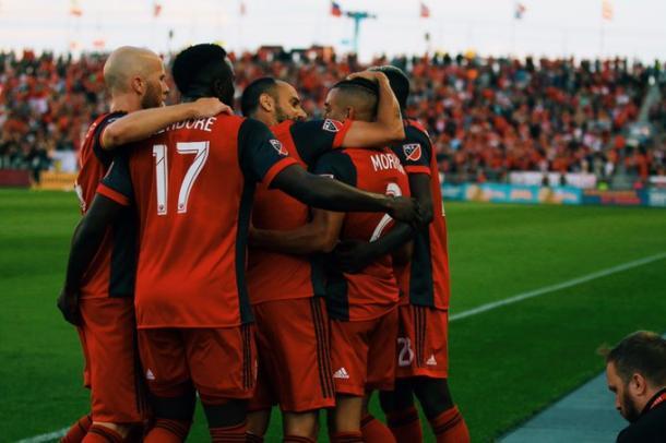 Toronto en una de las celebraciones. // Imagen: Toronto FC