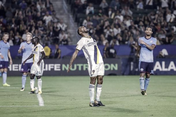 LA Galaxy could not break the deadlock in the first half. | Photo: LA Galaxy