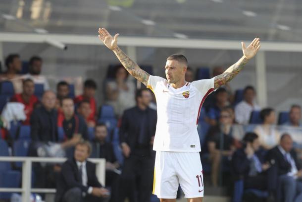 Kolarov llega pisando fuerte a la Serie A   Foto: Roma