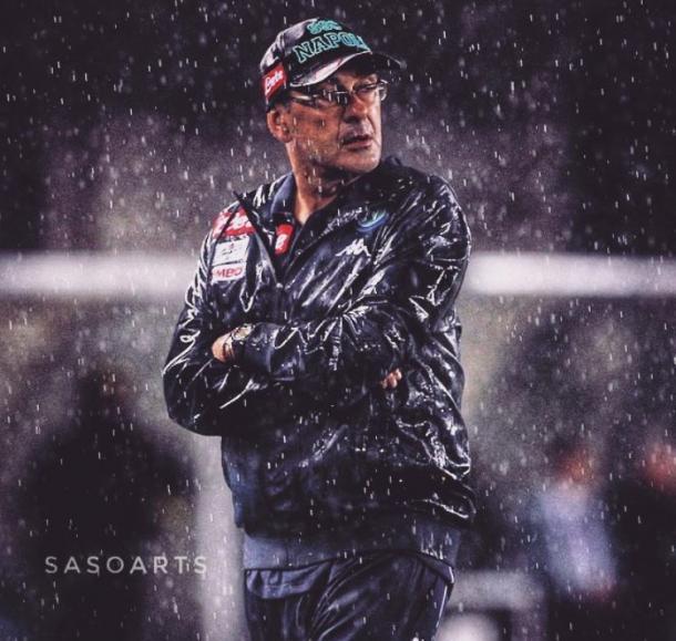 Maurizio Sarri. / Foto: sasoarts