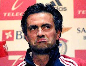José durante su corta etapa como entrenador del Benfica   Foto: UEFA