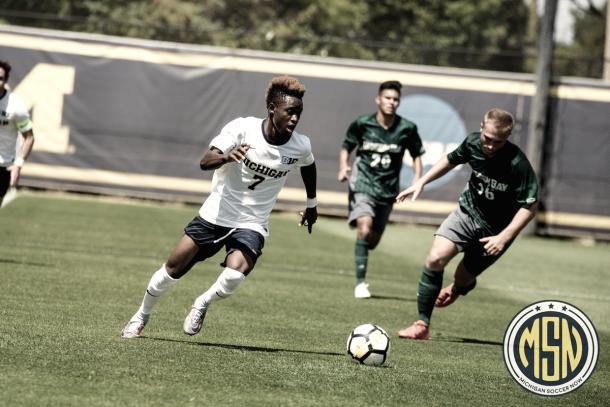 Umar Farouk Osman. | Photo: Michigan Soccer Now