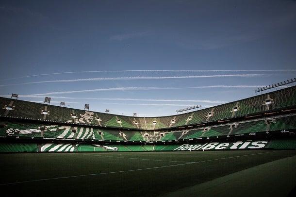 El recién remodelado estadio Benito Villamarín | Foto: Real Betis