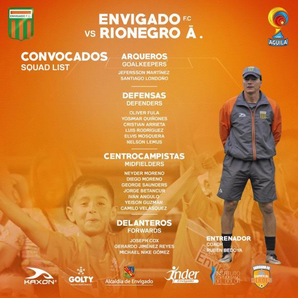 Foto: Envigado FC