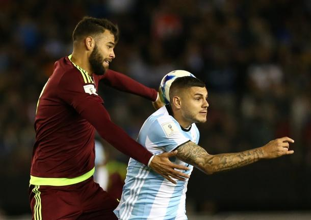 Venezuela sai em vantagem, mas Argentina alcança empate na etapa final (Foto: Divulgação/Argentina)