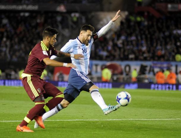Argentina tenta, mas não sai do empate com Venezuela no Monumental (Foto: Divulgação/Argentina)
