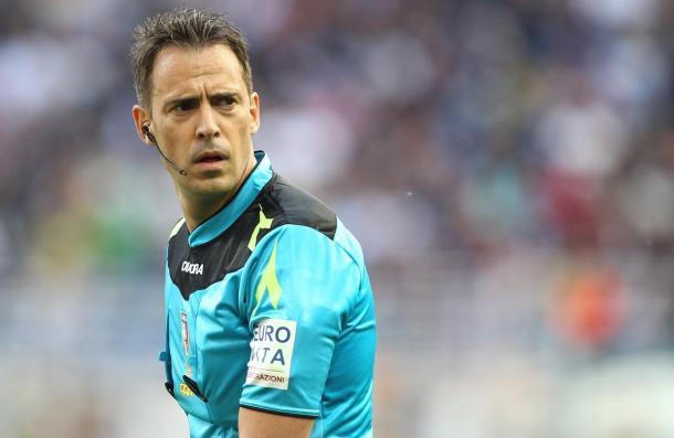 Claudio Gavillucci dirigirá el encuentro | Foto: FIGC