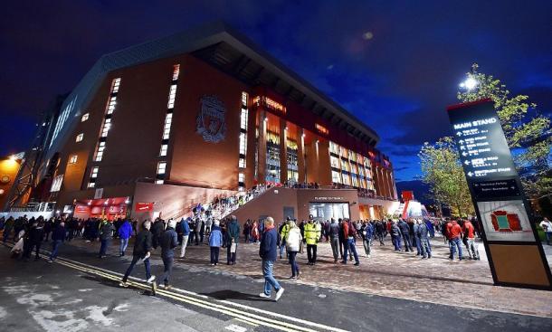 Anfield Road. | Fonte: twitter.com/LFC