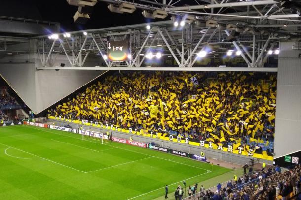 La cruva del Vitesse. Fonte: https://twitter.com/mijnvitesse