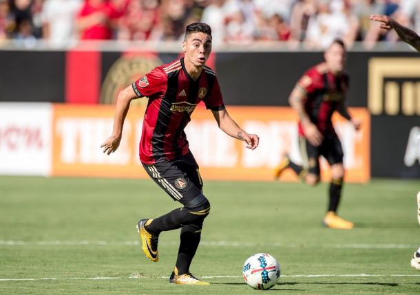 Miguel Almirón has been in stellar form this season | Source: atlutd.com